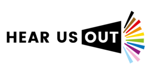the hear us out project logo